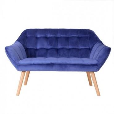 Βελούδινος καναπές διθέσιος...