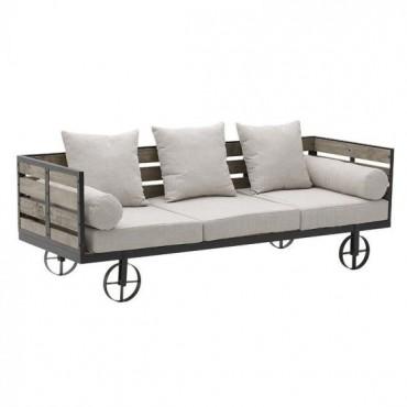 Καναπές υφασμάτινος/ξύλινος...