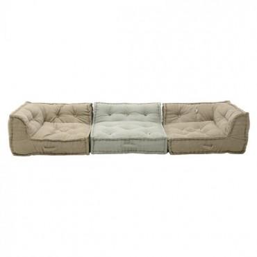 Υφασμάτινος καναπές...